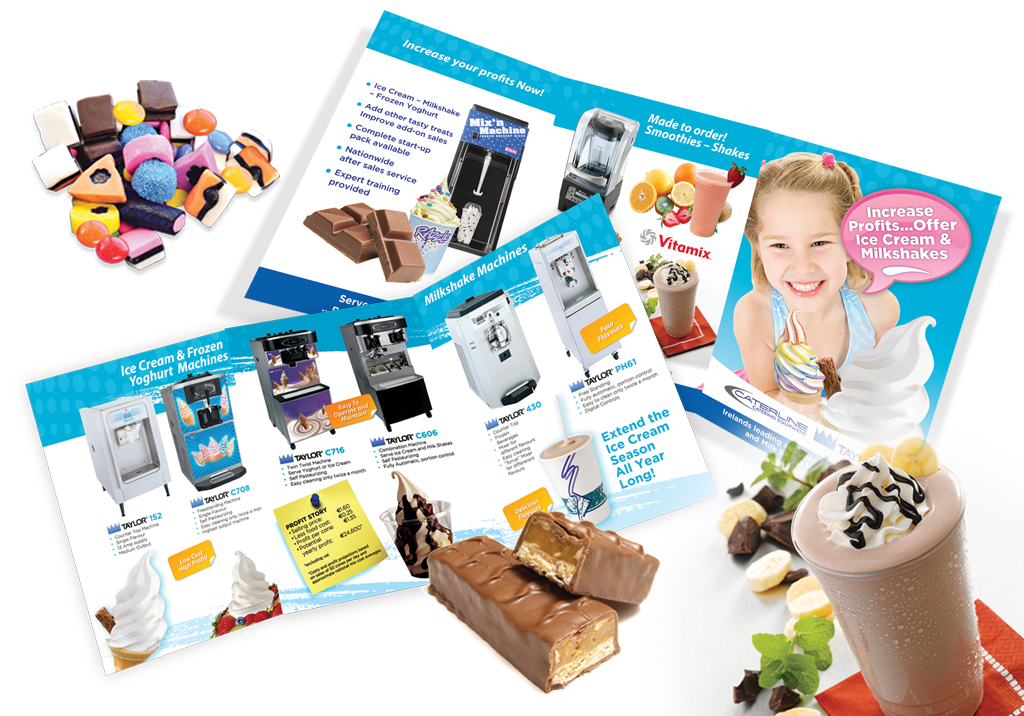 products catalogue design